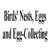 Birds'Nests and Egg Collecting icon