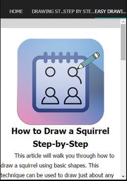 Drawing Step By Step apk screenshot