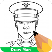 How To Draw A Man icon