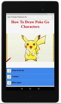 How To Draw Poke GO poster