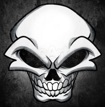 How To Draw Skulls apk screenshot