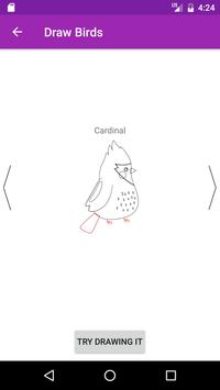 Draw Birds Step By Step apk screenshot