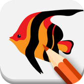 Draw Fish Step By Step icon