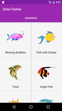 Draw Fish Step By Step poster