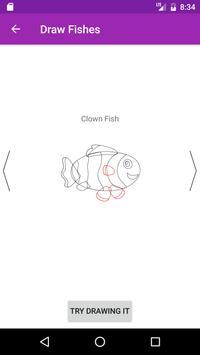 Draw Fish Step By Step apk screenshot