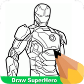 How To Draw Super Heroes icon