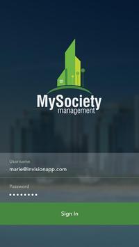 My Society poster