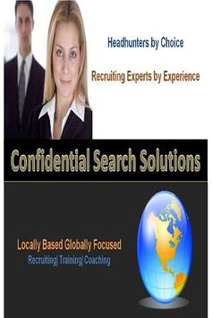 Confidential Search Solutions apk screenshot