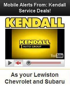 Kendall Chevy Subaru Lewiston poster