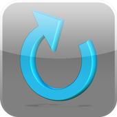 Prepaid mobile phone recharge icon