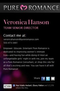 Pure Romance by Veronica poster