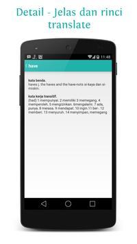 Kamus+ apk screenshot