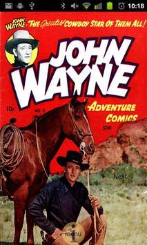 John Wayne Comic Book #2 poster