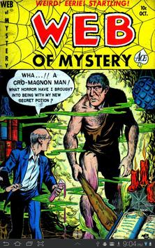 Web of Mystery #5 poster