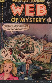 Web of Mystery #12 Comic Book poster