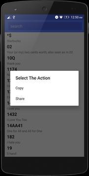 Chat Dictionary apk screenshot