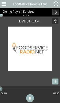 Foodservice Radio Player poster