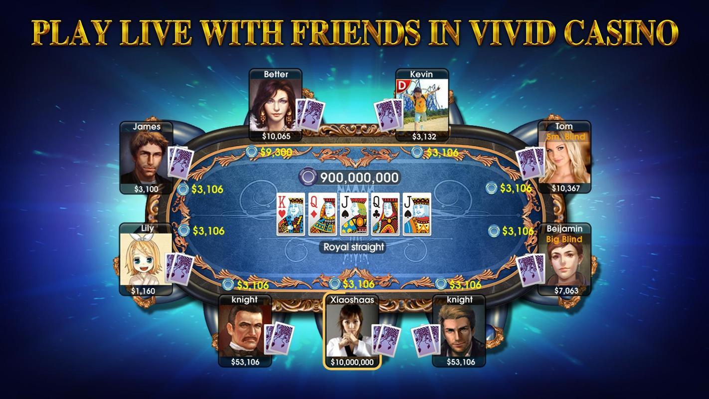 DH Texas Poker - Texas Hold'em APK Download - Free Casino