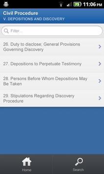 TEST APP - OBJECTION LIST apk screenshot