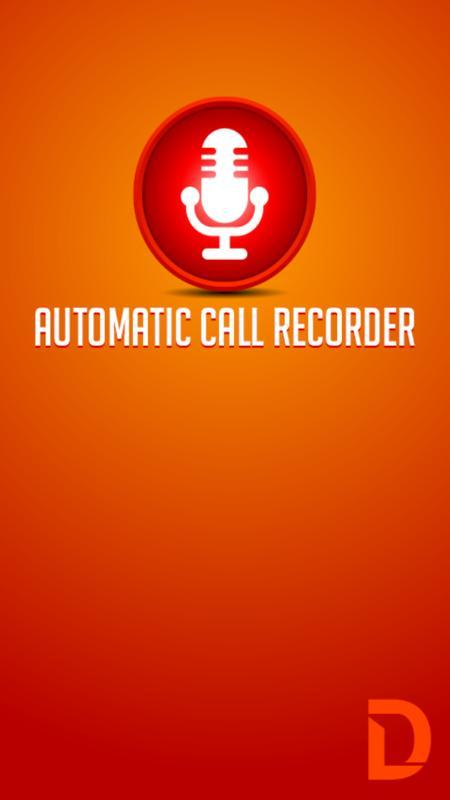 auto call recorder appliqato