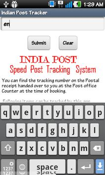 India Post Tracker apk screenshot