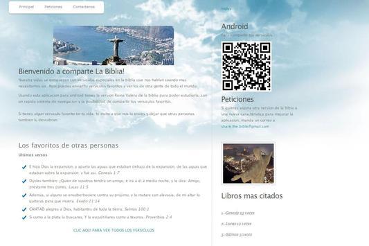 Holy Bible Reina Valera apk screenshot
