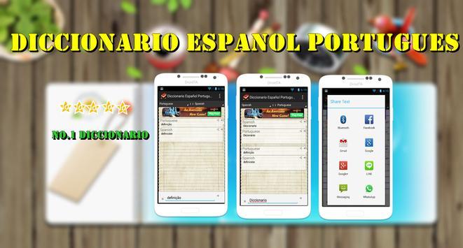 Diccionario  Portugues Español apk screenshot