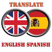 TRANSLATE ENGLISH TO SPANISH icon
