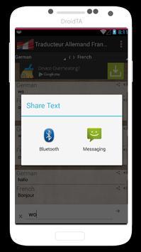 German French Translator apk screenshot