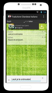 Traduttore Italiano Olandese apk screenshot