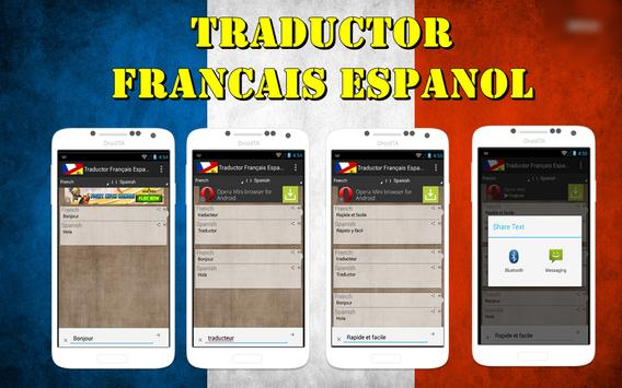 Traductor Français Español poster