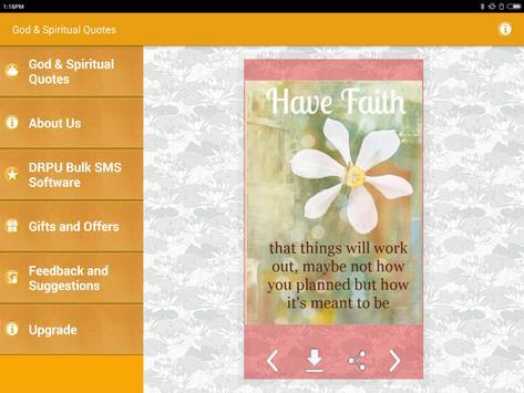 God & Spiritual Quotes Images apk screenshot