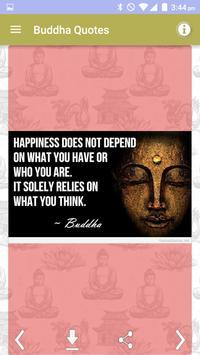 Gautama Buddha Quotes Images apk screenshot