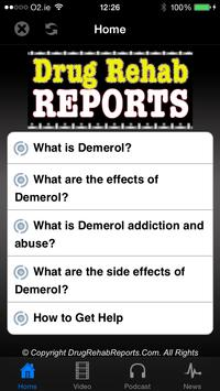 Demerol Addiction & Abuse poster