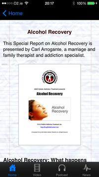 Recovery from Alcohol Abuse apk screenshot
