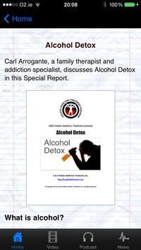 Detoxing from Alcohol apk screenshot
