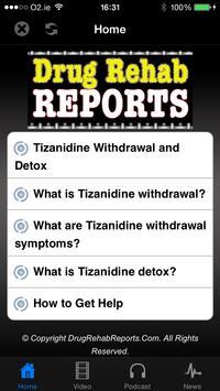 Tizanidine Withdrawal & Detox poster
