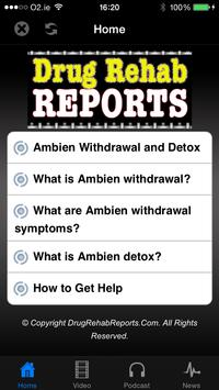 Ambien Withdrawal and Detox poster