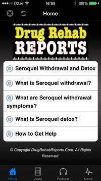 Seroquel Withdrawal & Detox poster