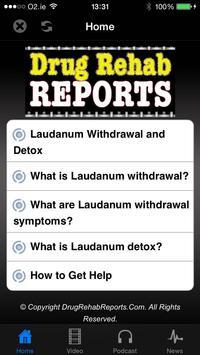 Laudanum Withdrawal & Detox poster