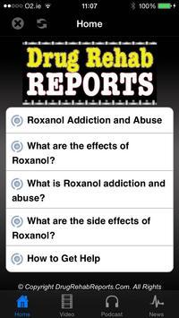 Roxanol Addiction & Abuse poster