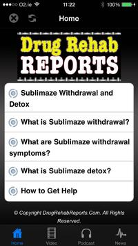 Sublimaze Withdrawal & Detox poster