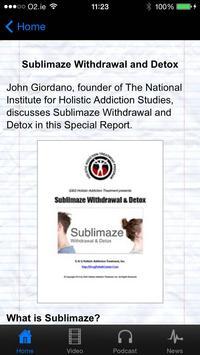 Sublimaze Withdrawal & Detox apk screenshot
