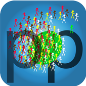 World Population Statistics icon