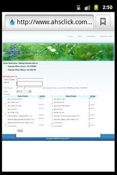 AHSClick apk screenshot