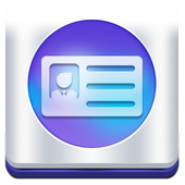 electronic virtual card icon