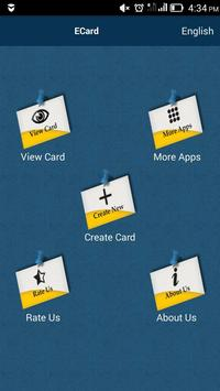 electronic virtual card apk screenshot