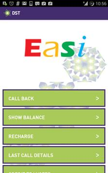 DST Easi App poster