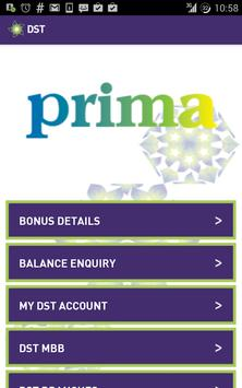 DST Prima App poster