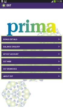 DST Prima App apk screenshot